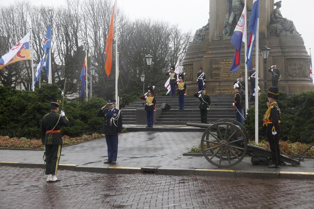 Ceremonie Plein 1813-1
