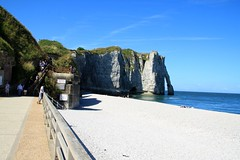 Falaise Aval at Etretat