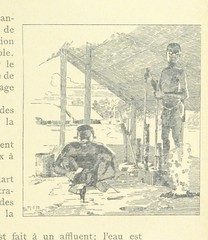 """British Library digitised image from page 55 of """"Au Congo. Comment les noirs travaillent ... Dessins, etc"""""""