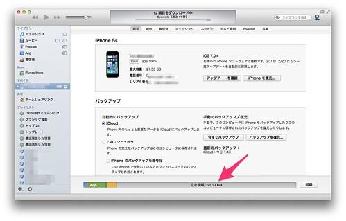 iPhone容量