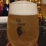 ベルギービール大好き! リオン・ア・プリュム カリオカ Lion plume Carioca