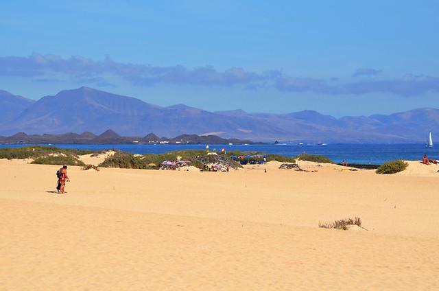 Dunes near Corralejo, Fuerteventura