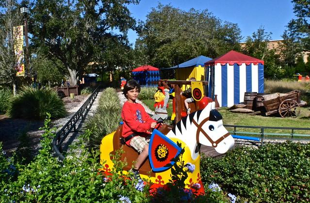 Legoland, Florida - Jousting Ride