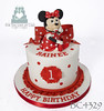 BC4329-baby-minnie-mouse-1st-birthday-cake-toronto