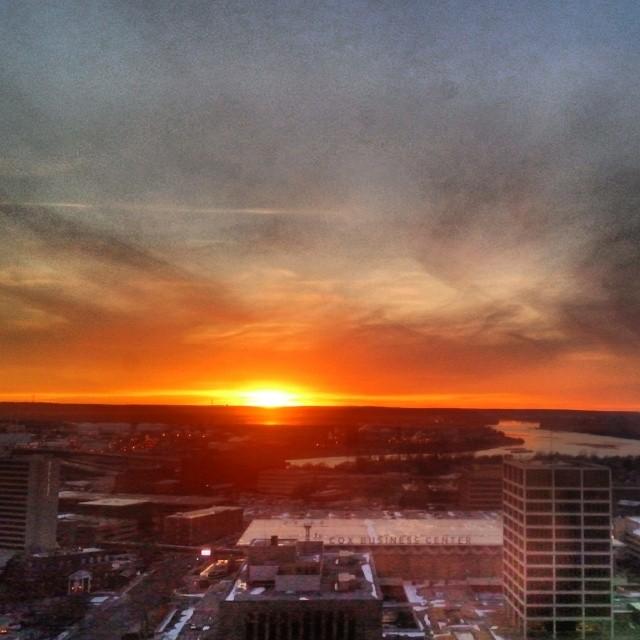 #sunset #skyviewers #tulsa #oklahoma #igersok