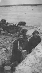 Canadian soliders, Walcheren Island