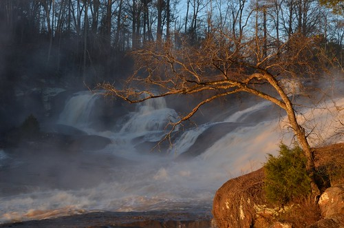 Winter's Light at High Falls by Get The Flick