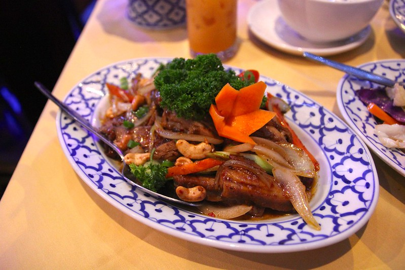 Duck cashew-nut