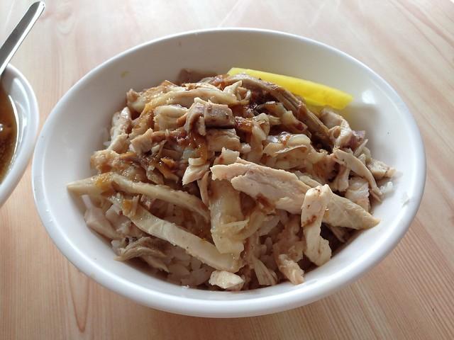 嘉義噴水雞肉飯嘉義噴水雞肉飯:雞絲飯