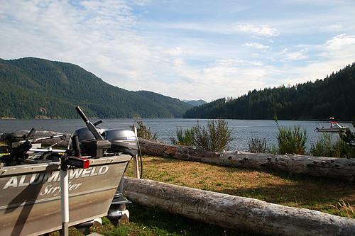 Alberni Inlet, Alberni Valley, Vancouver Island, British Columbia, Canada