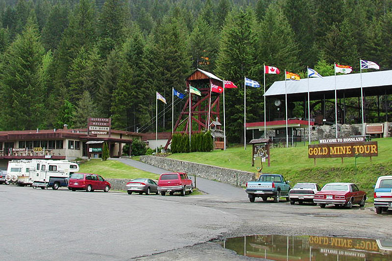 Gold Mine Tours, Rossland, Kootenays, Kootenay Rockies, British Columbia, Canada