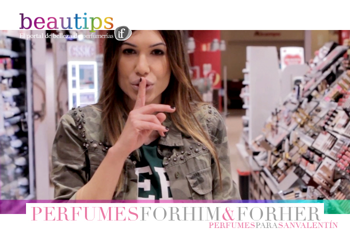 beautips barbara crespo perfumes for him and for me san valentin beauty video report beautips.com