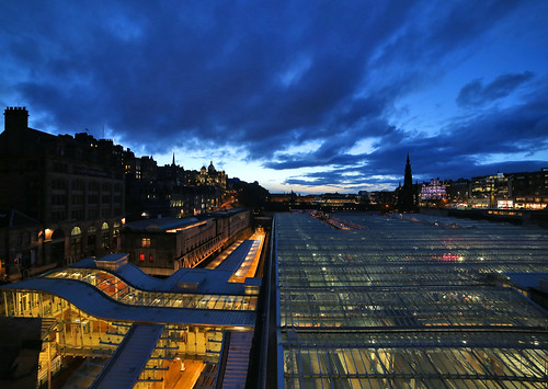 Waverly Station - Edinburgh by Mike Bolam