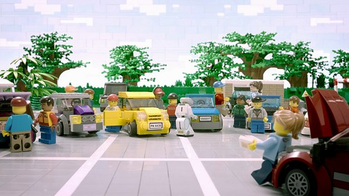 LEGO ads on ITV this weekend