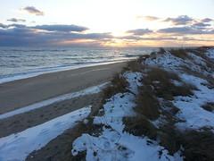 Winter South Beach - Martha's Vineyard
