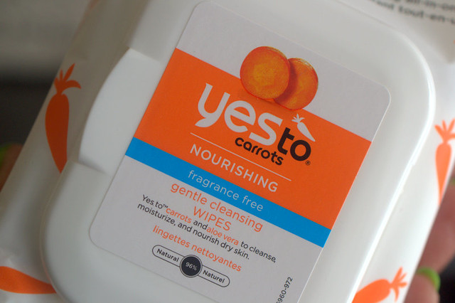 Yes To Carrots Gentle Cleansing Wipes fragrance free
