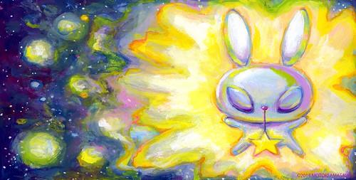 星うさぎの絵本2