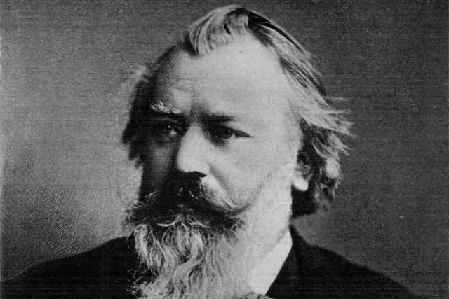 Johannes Brahms by C. Brasch