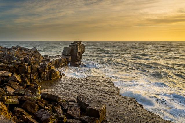 Portland Golden Hour- Dorset