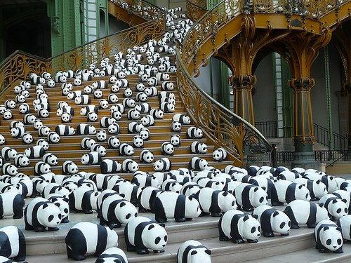 1600 pandas Grand Palais 2