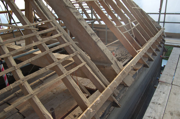 Existing rafters