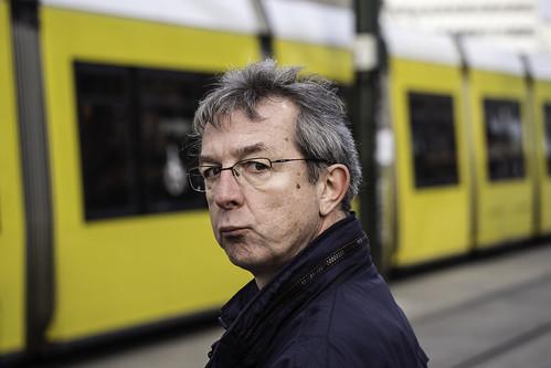 Man, Tram