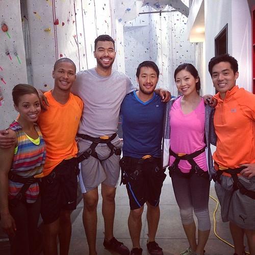 Cindy Chu, rock climbing, stronghold, la
