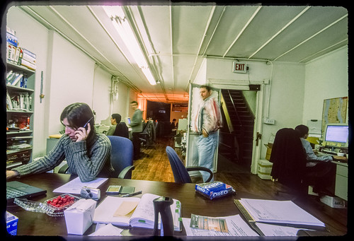 A local mobile startup in Silicon Alley ca. May 2000 (Vindigo Labs, 115 W 25th St at 7th Ave)