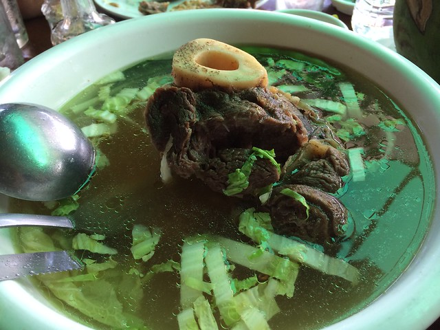 Bulalo special - Leslie's Restaurant