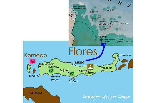 Excursión a las 17 Islas, Flores, Indonesia