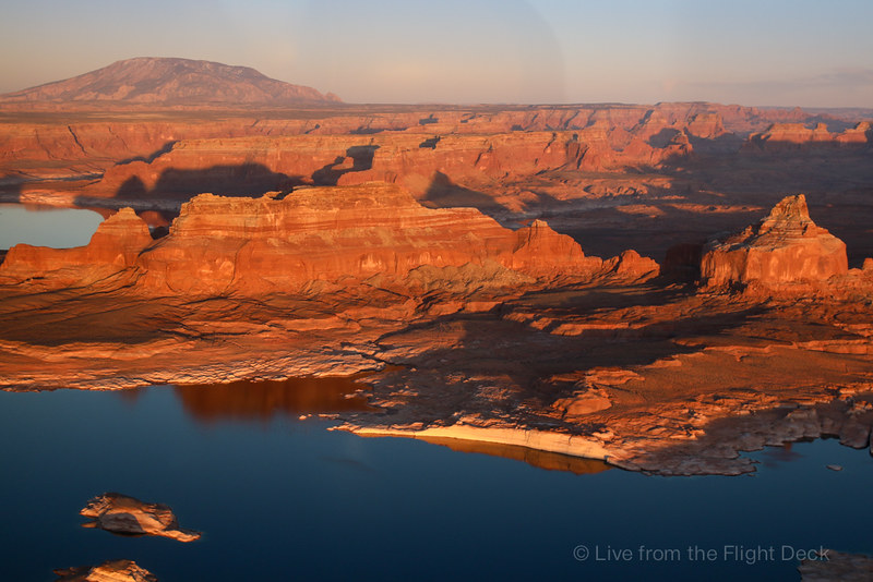 Lake Powell, looking South-East