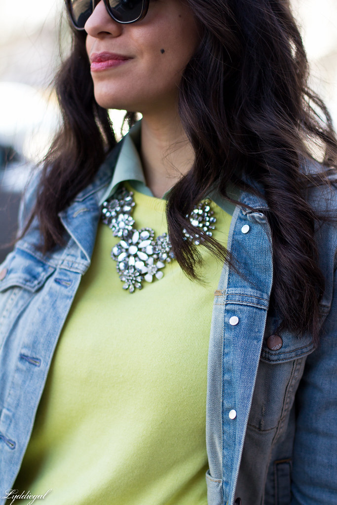 yellow sweater, mint blouse, denim jacket-7.jpg