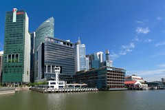 OUE Bayfront in Marina Bay, Singapore