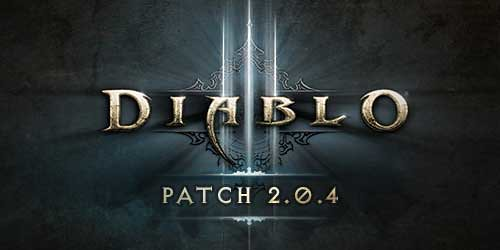 Diablo 3 patch 2.0.4 is out