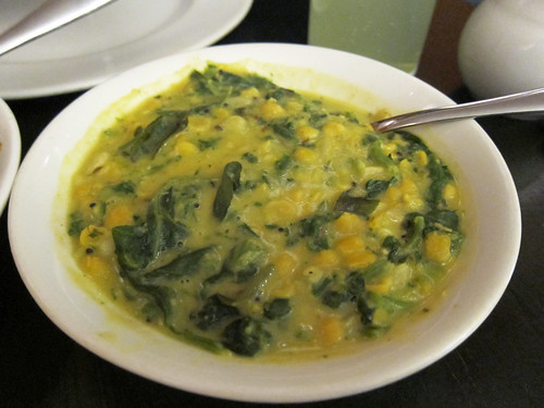 Dhal Spinach