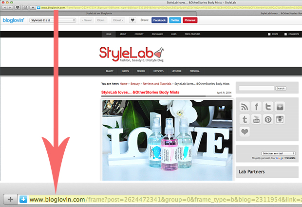 stylelab blog blogger guide to bloglovin 2