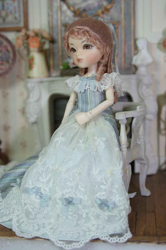 Melody in victorian ball gown