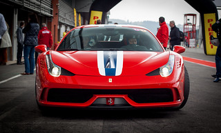 Ferrari 458 Speciale at Spa Francorchamps, Belgium