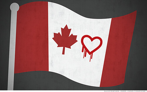 Hearbleed Hacker in Canada