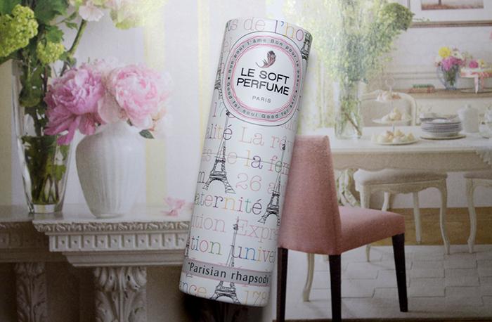 Le Soft Perfumes in Parisiene Rapsody