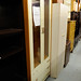Laminated double door glass display unit