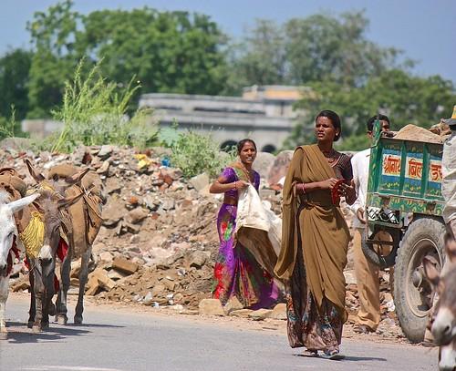 women street workers of Udaipur