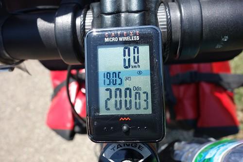 2万キロ超える