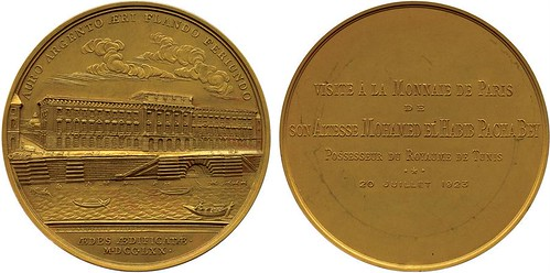 1923 AURO ARGENTO medal