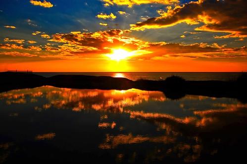 life travel light sunset sky sun reflection beach water weather clouds canon reflections golden israel telaviv mediterranean shadows c horizon sigma wideangle canondslr mediterraneansea waterreflection goldenlight greatweather ultrawideangle sigma1020 goldenhours telavivbeach horizonbeach canon600d travelinisrael canont3i canonkiss5 sunsetreflectiontelavivbeach