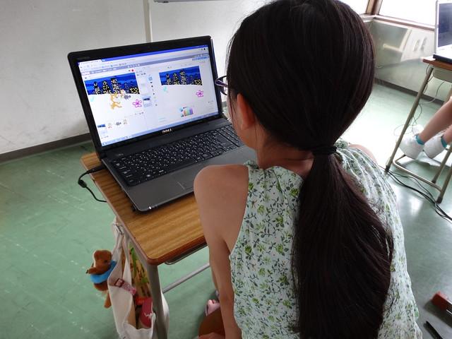 ファミリオ夏期プログラミング小学クラス Scratch(スクラッチ)