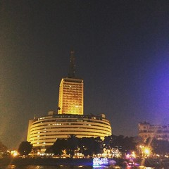 The Maspero building of radio and TV #Egypt #Buildings #Nile #Citizenjournalism #Blogger