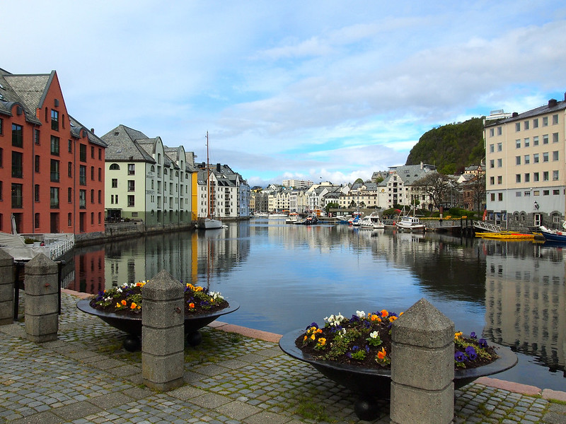 Art Nouveau center of Alesund, Norway