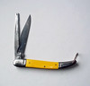 Vintage Sabre 624 Pocket Knife Made in Japan - Yellow Handles
