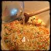 #Homemade #ZucchiniBlossom #Risotto #CucinaDelloZio - add 1 c #Wine